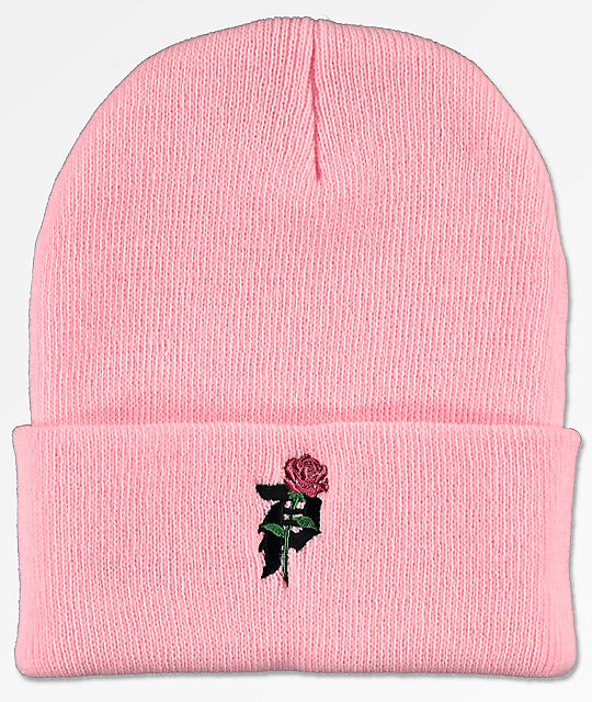 new high quality best sneakers Primitive Heartbreakers Pink Beanie