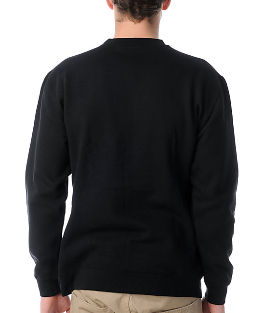 Primitive Iceberg Black Crew Neck Sweatshirt