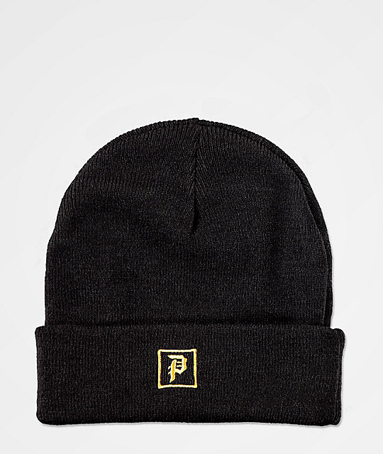 Primitive Legend Black Beanie