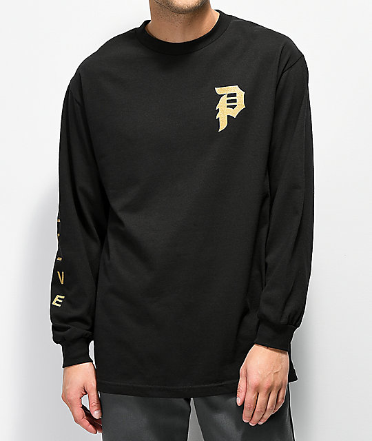 Primitive Memento Black Long Sleeve T-Shirt