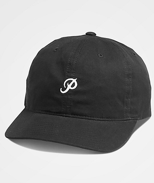 Primitive Mini Classic P Black Dad Hat  ff6109cf6d6