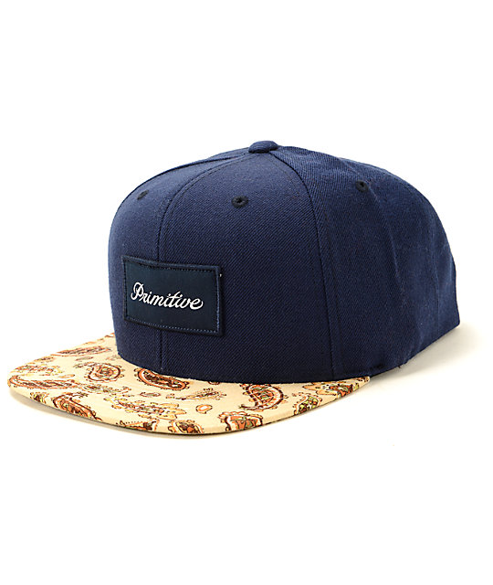 Primitive Paisley Snapback Hat  c29df0e6c8e