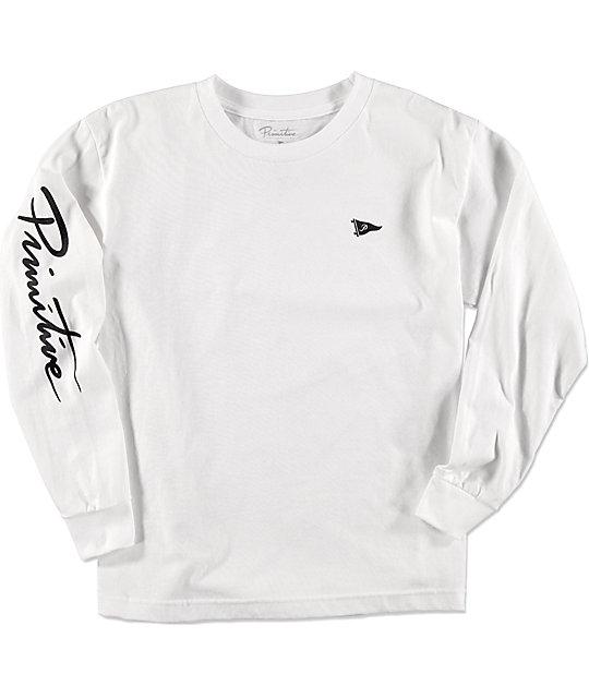 fe49803abc86 Primitive Pennant Nuevo Boys Long Sleeve T-Shirt | Zumiez.ca