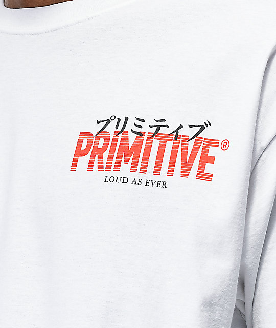 Primitive Samurai II White T-Shirt