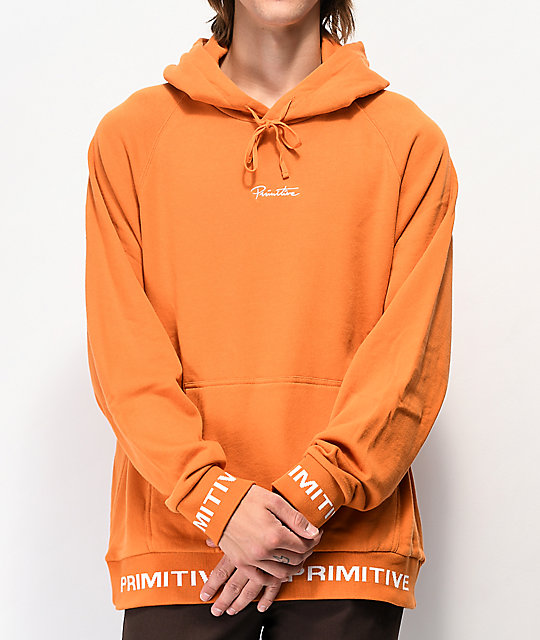 Primitive Shibuya Burnt Orange Hoodie