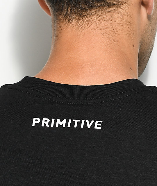 Primitive Smokey P camiseta negra