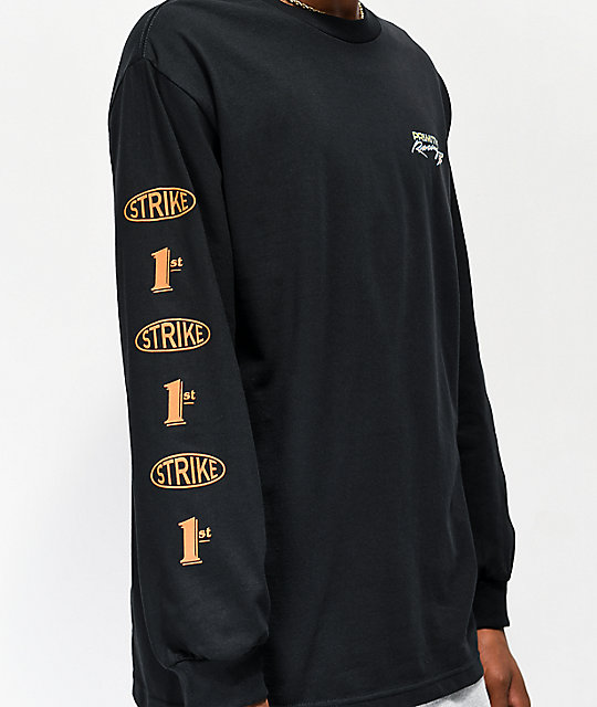 Primitive Speed Black Long Sleeve T-Shirt