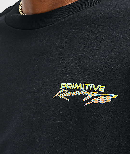 Primitive Speed camiseta negra de manga larga