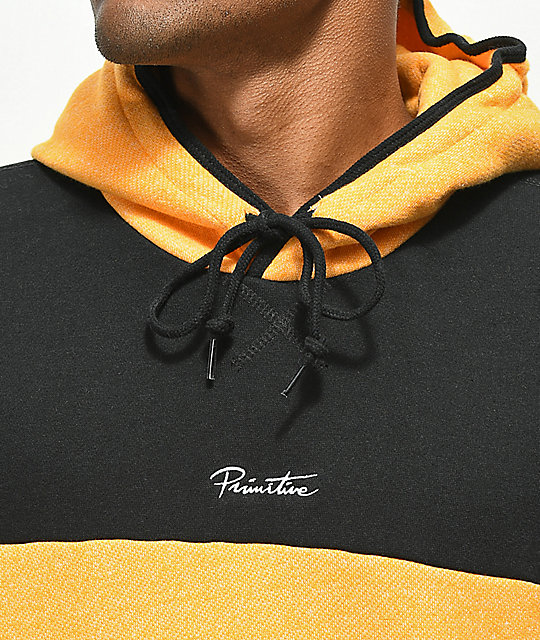 Primitive Sunset & Black Hoodie