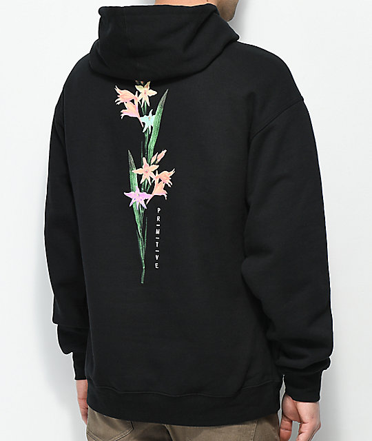 Primitive Tropical Black Hoodie