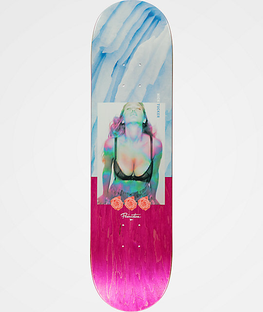 "Primitive Tucker Ice Cold 8.25"" Skateboard Deck"