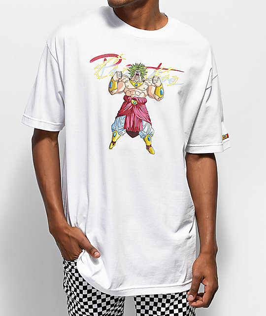 Primitive x Dragon Ball Z Broly White T-Shirt