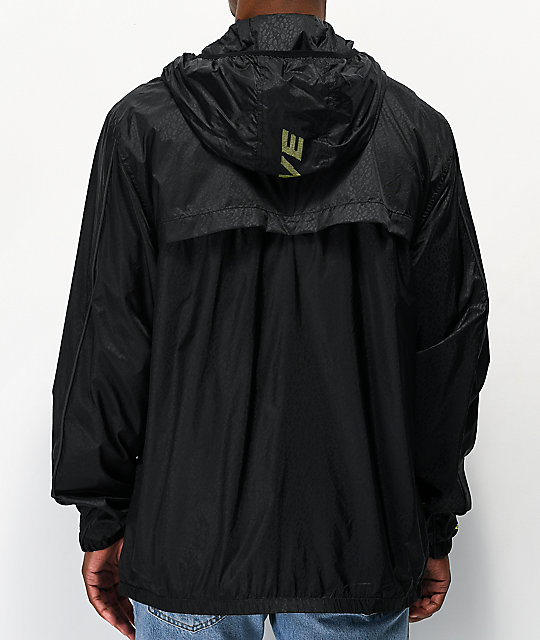 Primitive x Dragon Ball Z Cell Black Anorak Windbreaker Jacket