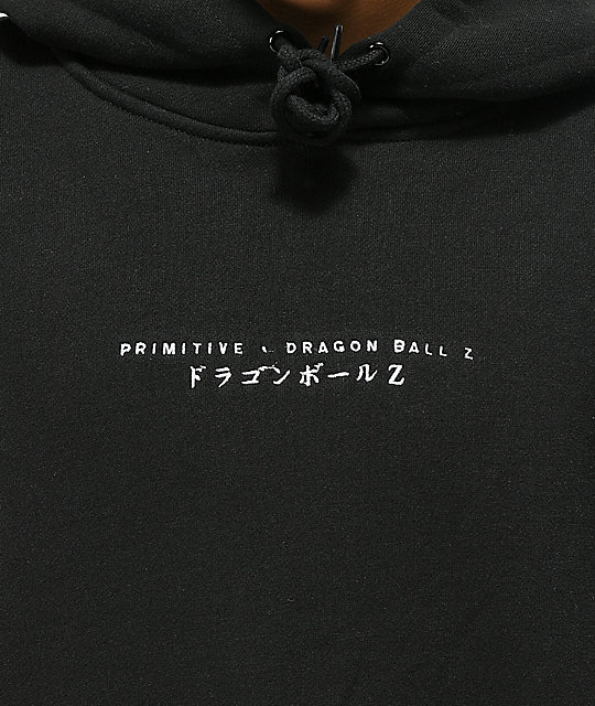Primitive x Dragon Ball Z Club sudadera con capucha negra