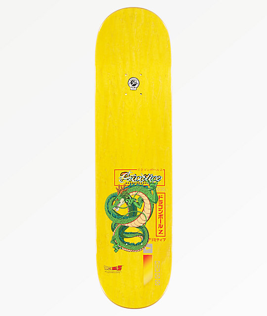 "Primitive x Dragon Ball Z Desarmo Raditz 8.0"" tabla de skate"