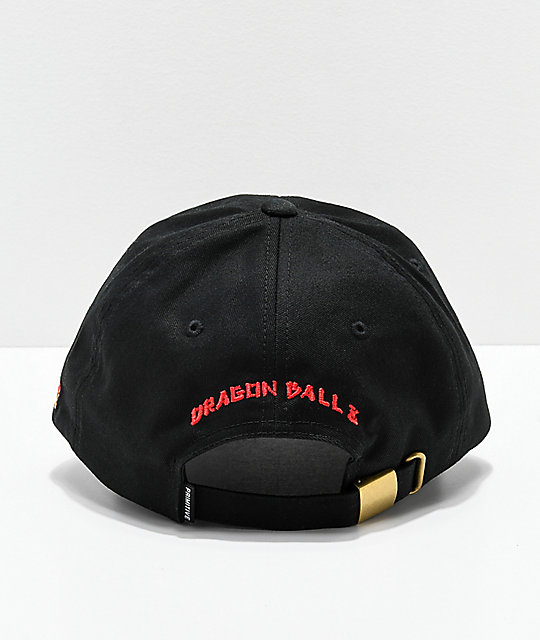Primitive x Dragon Ball Z Dirty P Nimbus Black Strapback Hat