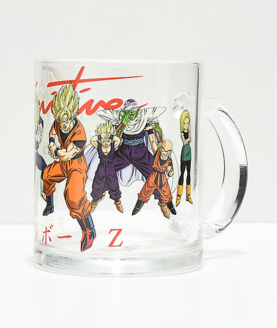 Primitive x Dragon Ball Z Heroes Glass Mug