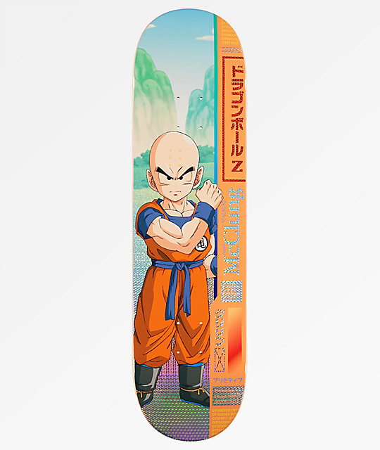 "Primitive x Dragon Ball Z McClung Krillin 8.125"" tabla de skate"