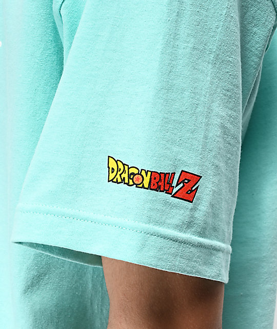 Primitive x Dragon Ball Z Nuevo Cell camiseta azul marino