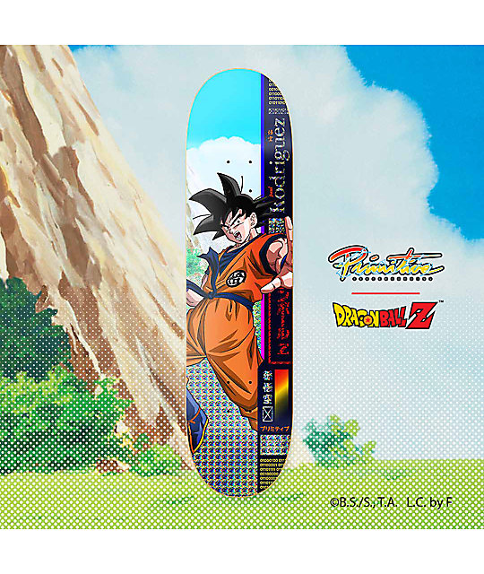 "Primitive x Dragon Ball Z PRod Goku 8.0"" Skateboard Deck"