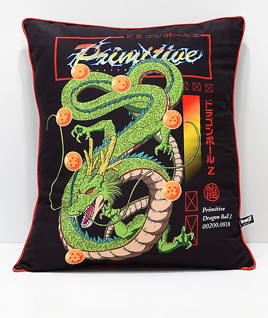 Primitive x Dragon Ball Z Shenron almohada