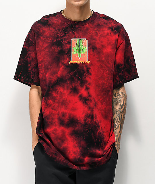 Primitive x Dragon Ball Z Shenron camiseta roja