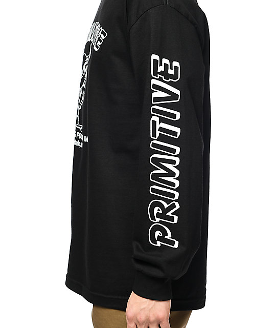 Primitive x Huy Fong Saucy Black Long Sleeve T-Shirt