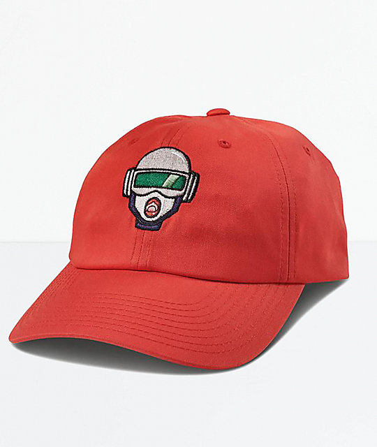 Primitive x Rick and Morty Gwen Red Dad Hat  74a2a14cb6a