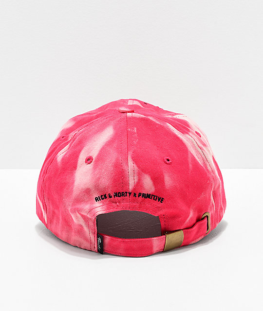 Primitive x Rick and Morty Rick Puff gorra rosa