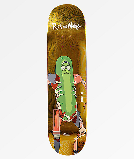 Primitive x Rick and Morty Tucker Pickle Rick 8.25