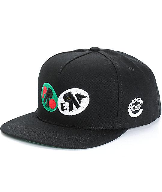 Pro Era x Crooks and Castles Logo Snapback Hat  02742c8ebae