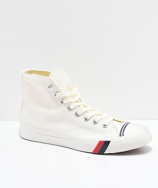 Pro-Keds Royal Hi Classic White Shoes