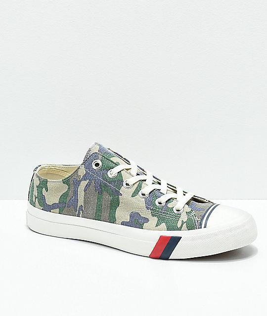 6003763d20a59 Pro-Keds Royal Lo Camo Shoes | Zumiez