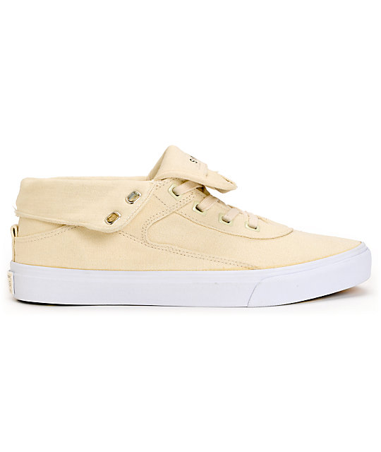 Project CANVAS Primary High Natural Canvas Shoes