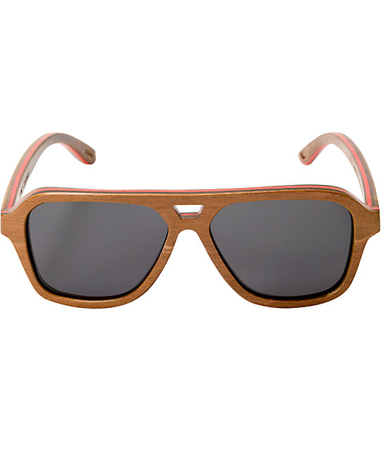 Proof Donner Skate Brown Polarized Sunglasses