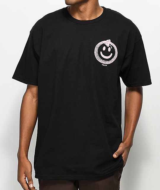 Publish Snake Smile Black T-Shirt