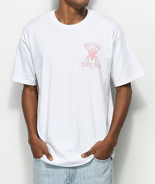 Publish Wide Web White T-Shirt