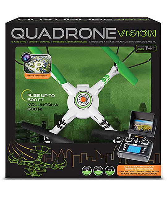 Quadrone I-Sight Radio Controlled Drone