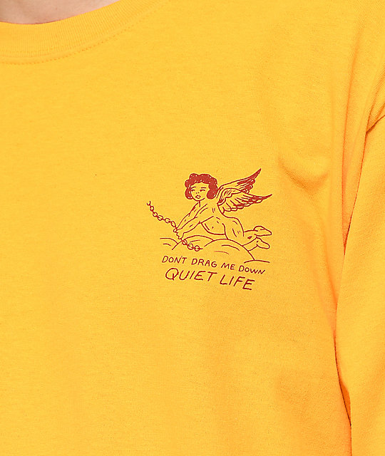 Quiet Life Bring Me Down Gold Long Sleeve T-Shirt