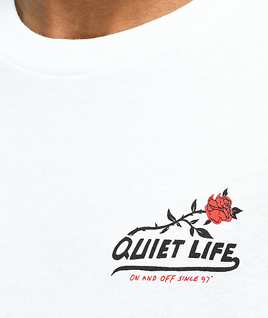 Quiet Life Heavy Slime White T-Shirt