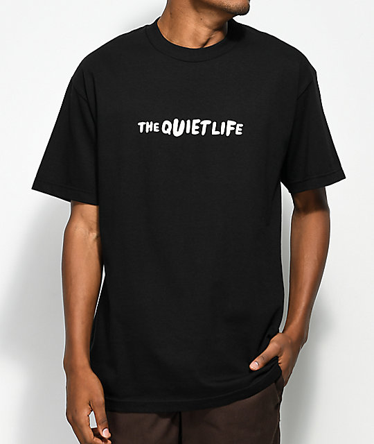 Quiet Life Marx Black T-Shirt