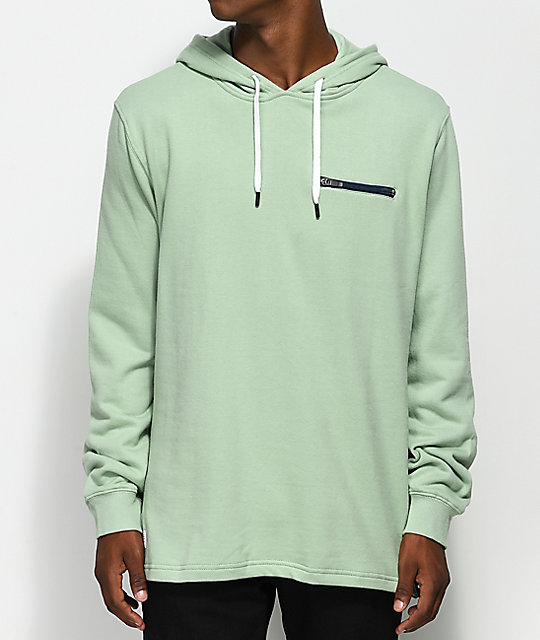 select for original temperament shoes enjoy discount price Quiet Life On And Off Mint Green Hoodie