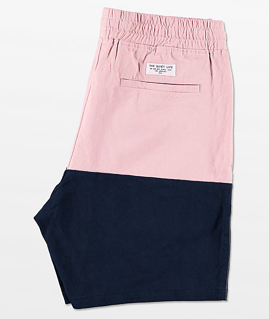 Quiet Life Pink Boardwalk Beach Shorts