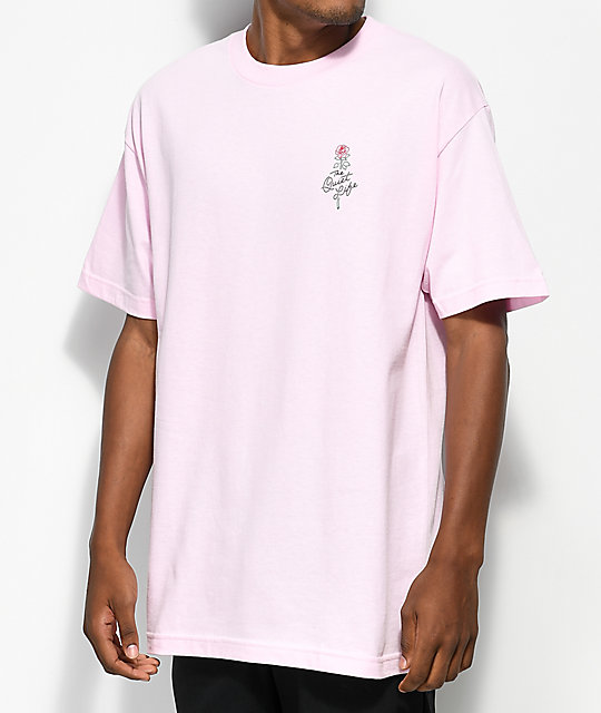 Quiet Life Rose Pink T-Shirt