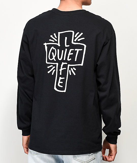 Quiet Life Sharpie Black Long Sleeve T-Shirt