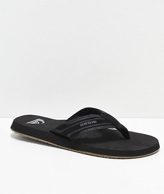 comprar nuevo diseño hábil incomparable Quiksilver Monkey Wrench sandalias en negro y goma