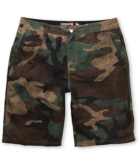 Quiksilver Wombat Camo Hybrid Shorts