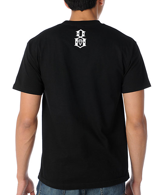 REBEL8 Brain Poison Black T-Shirt