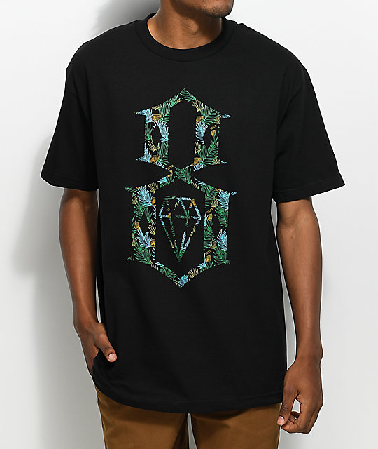 REBEL8 Dalmae Black T-Shirt