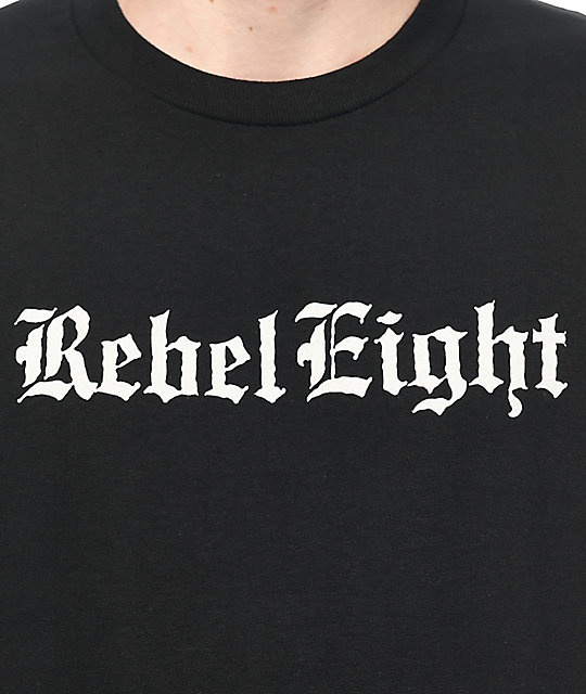 REBEL8 Hell Can't Hold Us Black T-Shirt